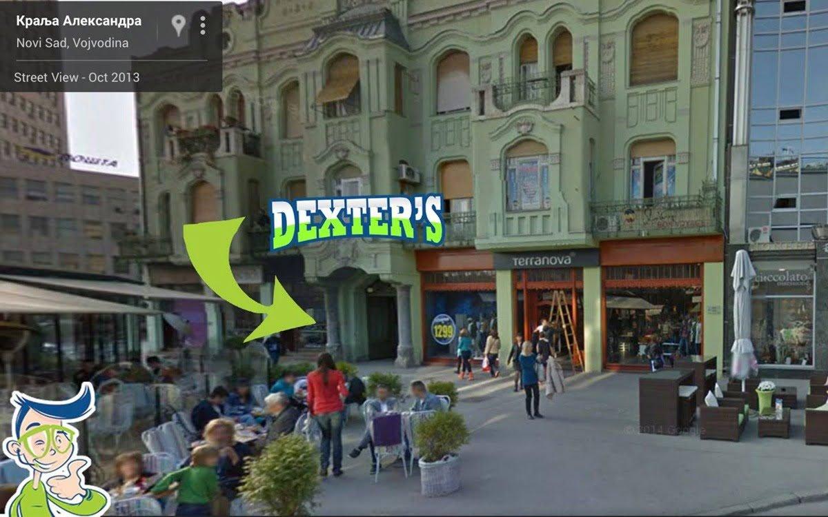 dexters novi sad lokacija
